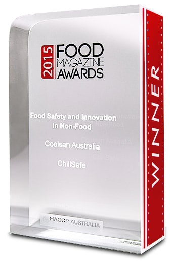 ChillSafe food magazine awards 2015