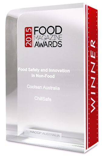 ChillSafe wins at Food Magazine Awards 2015