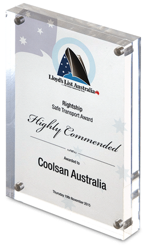 Rightship Safe Transport Award